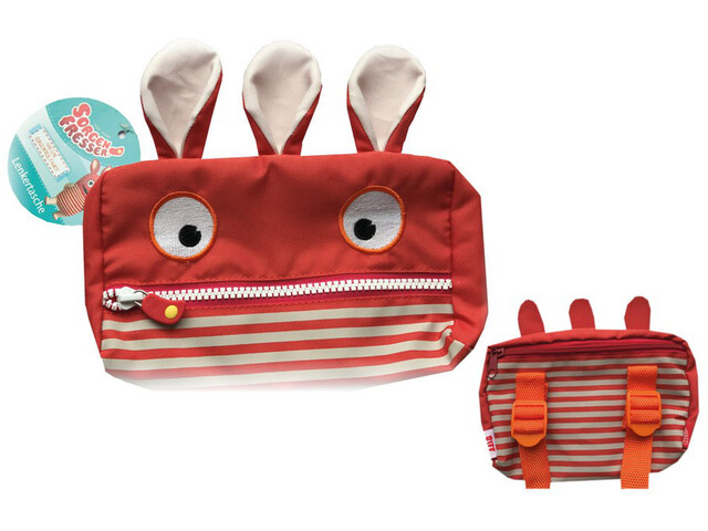 Bike Fashion Worry Eater Lenkertasche rot